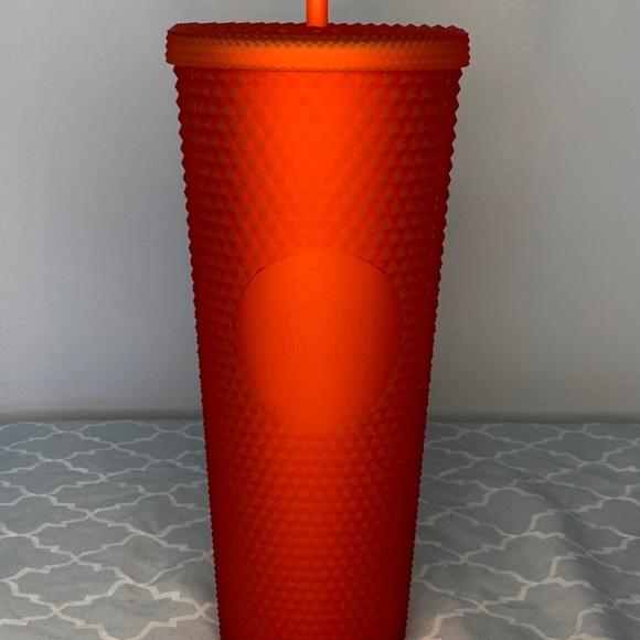 Starbucks Red Studded Tumbler